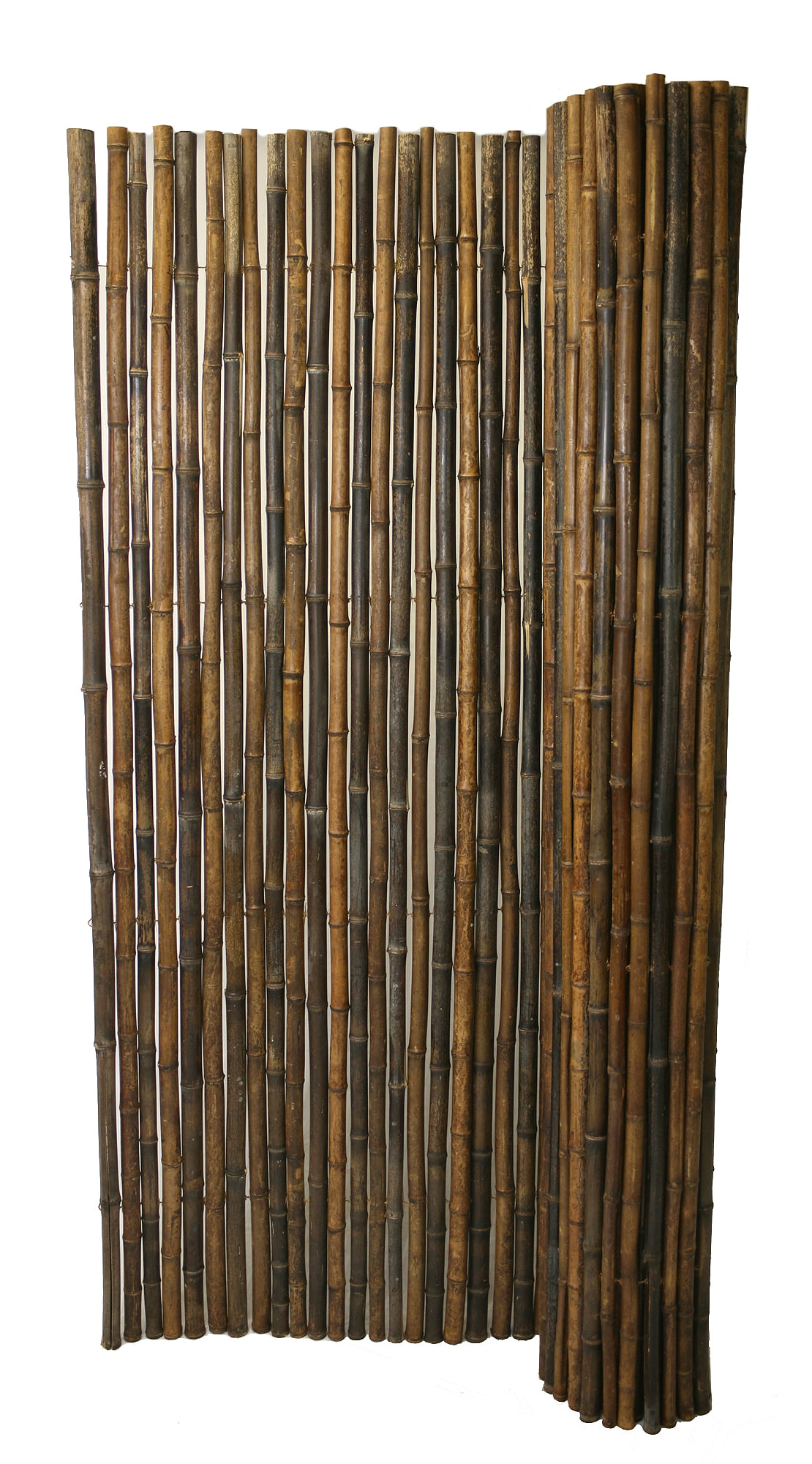 Backyard X-Scapes Bamboo Fencing, Natural Black by Generic