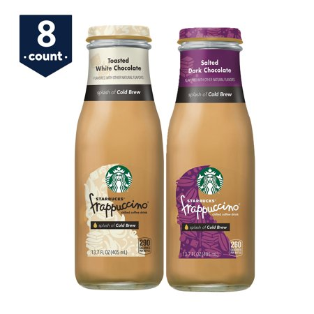 Starbucks Frappuccino with Cold Brew, 2 Flavor Variety Pack, 13.7 oz Bottles, 8 Count - Starbucks Frappuccino Halloween