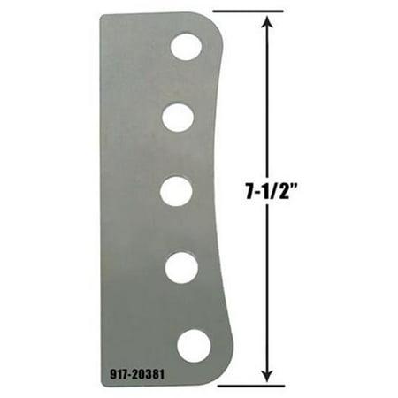 Bracket 5 Hole - Five 3/4 Inch Hole Mounting Bracket
