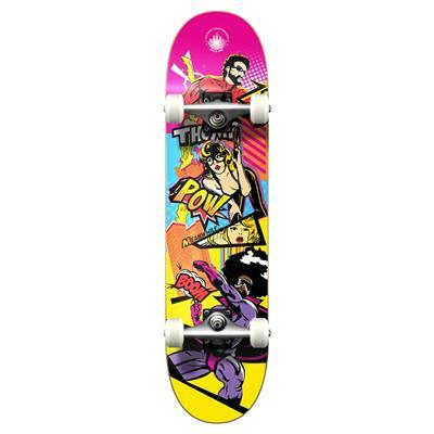 Yocaher Graphic Complete Skateboard - Comix Series - Action