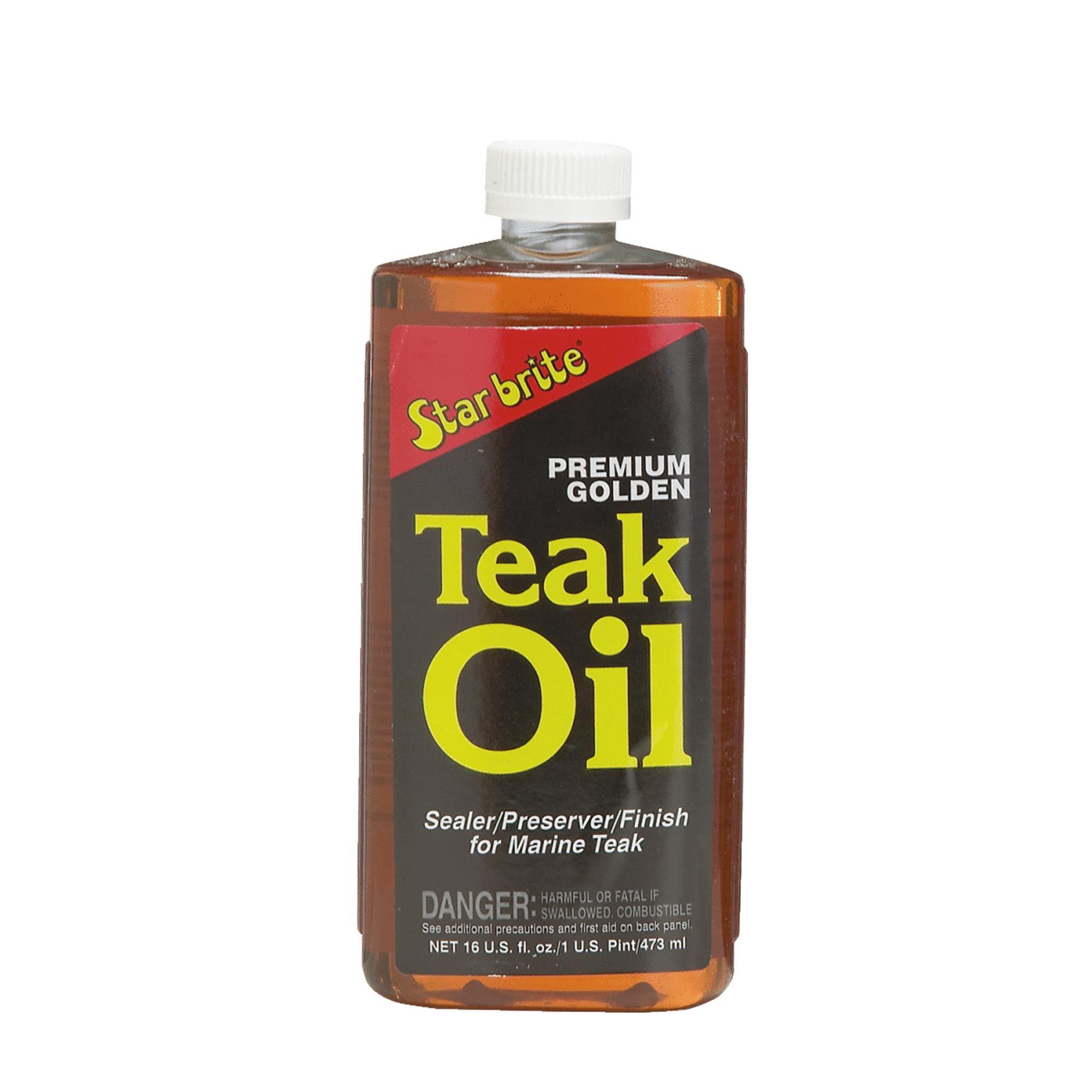 Starbrite Premium Golden Teak Oil Finish
