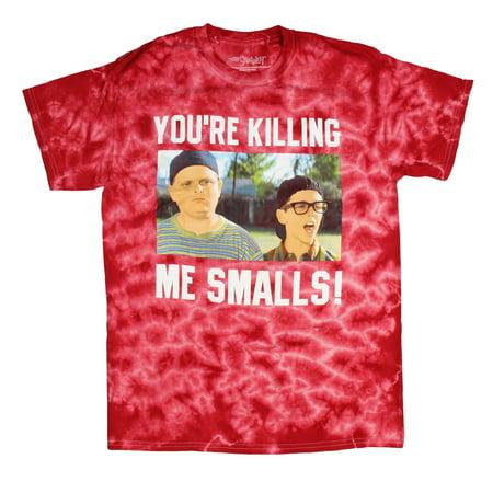 The Sandlot Men's Ham And Squints You're Killing Me Smalls Tie Dye (Squints Sandlot Costume Shirt)