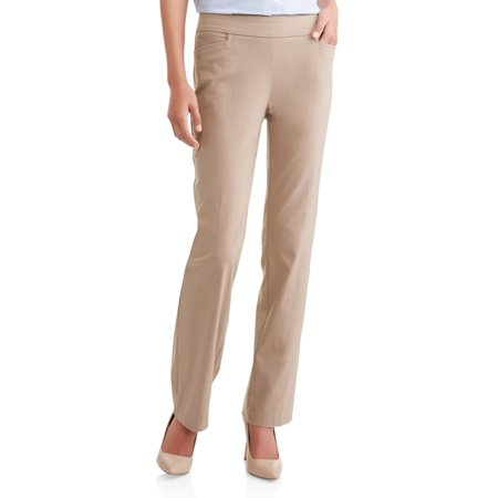 0fedf005933bc TIME AND TRU - Women s Millennium Pull On Pant - Walmart.com