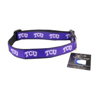 TCU Horned Frogs Ribbon Dog Collar