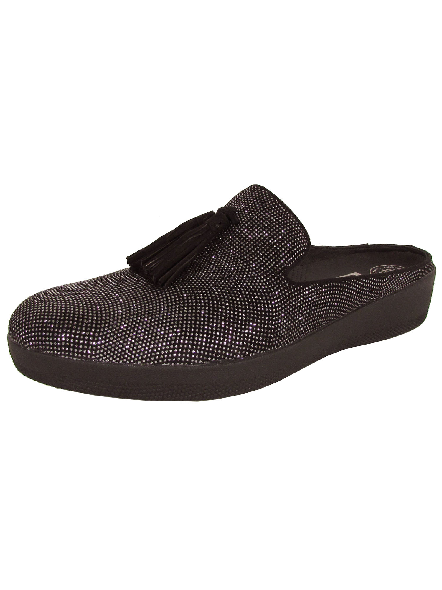 5cc2baa7d247a FitFlop - Fitflop Womens Superskate Slip Ons Tassel Mule Shoes ...