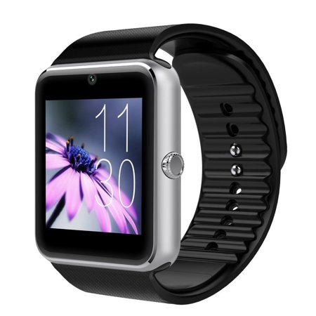 T6 Bluetooth Smart Watch Wrist Watch with Camera For Android IOS Smart Phone Samsung S5 / Note 2 / 3 / 4, Nexus 6, HTC, Sony, Huawei and Other Android Smart Phones (Avatar Phone Watch)