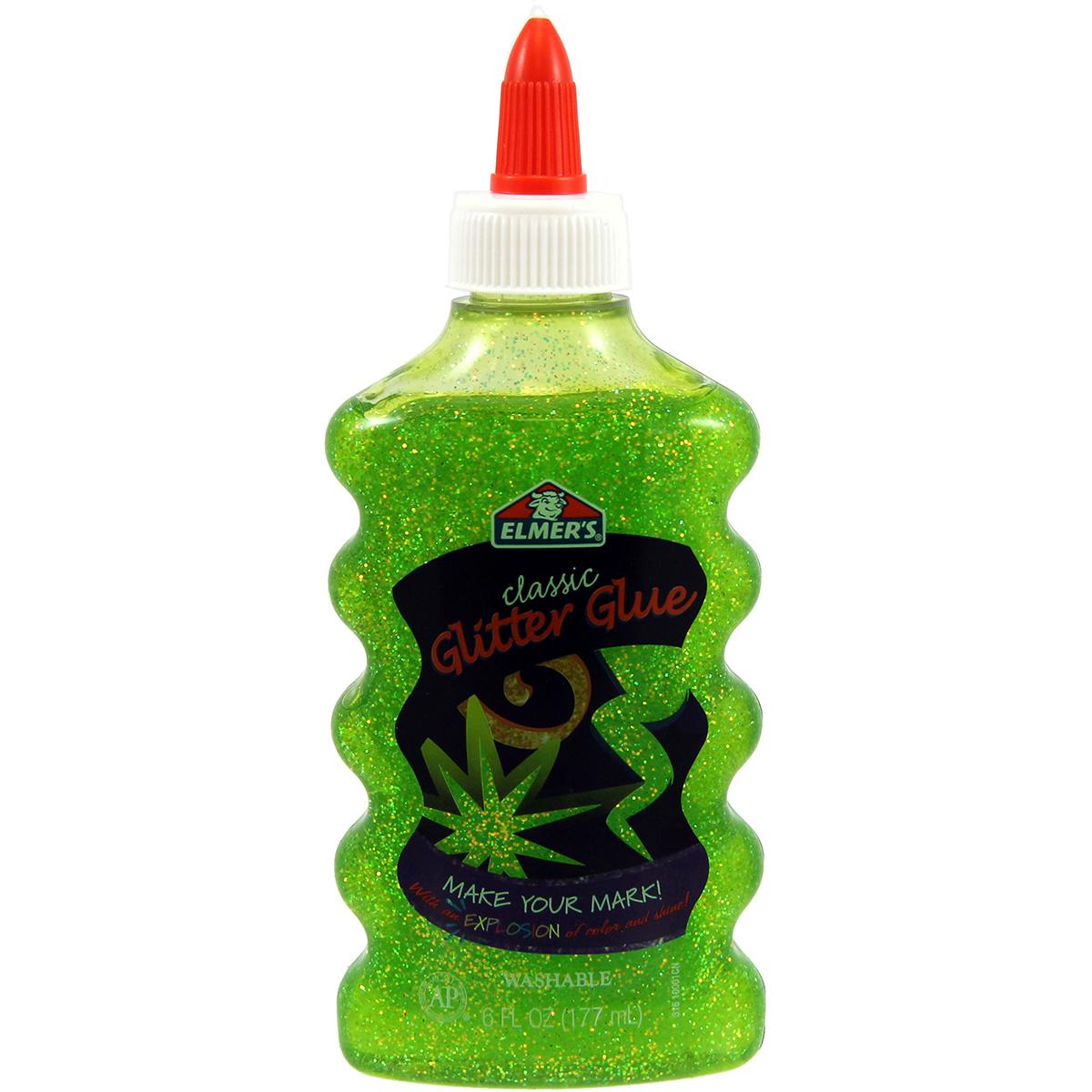 Elmer's Glitter Glue 6oz-Green