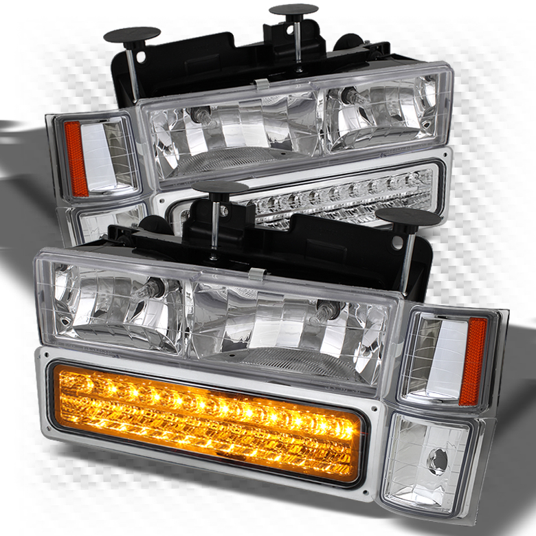 for 1994 1999 chevy c10 c k tahoe suburban silverado 8in1 led headlights corner pair left right 1995 1996 1997 1998 walmart com walmart com for 1994 1999 chevy c10 c k tahoe suburban silverado 8in1 led headlights corner pair left right 1995 1996 1997 1998 walmart com