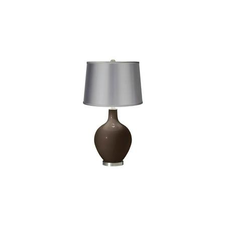Color + Plus Carafe - Satin Light Gray Shade Ovo Table