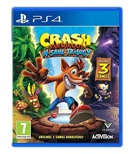 Click here to buy Crash Bandicoot N. Sane Trilogy Playstation 4 Playstation 4.