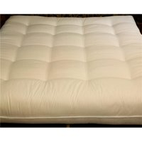 Naturally Sleeping CCF-11-Txl Twin Extra Long Size Luxury with Wool Futon Mattress