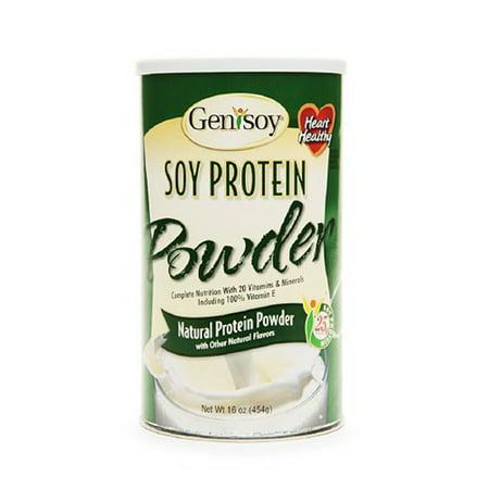 Genisoy naturelle de protéines de soja en poudre - 16 Oz
