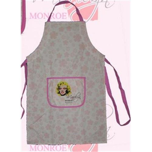 Precious Kids 24001 Marilyn Monroe Kitchen Apron - Pink Flowers
