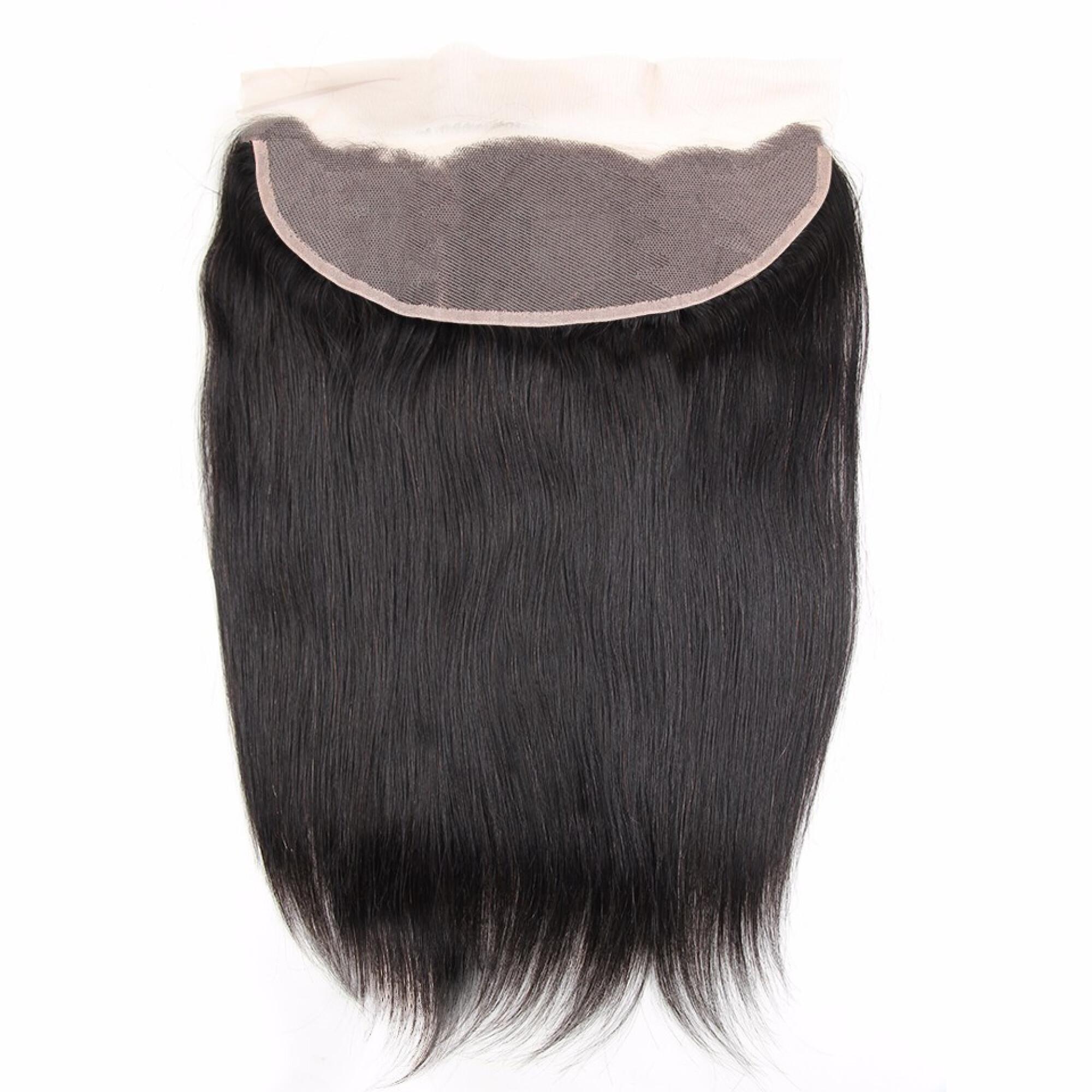 "Amazing Star Brazilian Straight Hair Frontal Closure Free Part Virgin Human Hair, 12"""