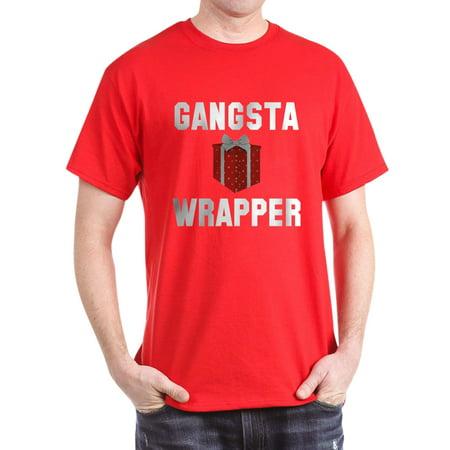cd0fad3b7 CafePress - CafePress - Gangsta Wrapper - 100% Cotton T-Shirt - Walmart.com