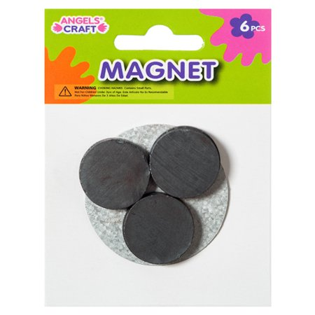 New 368169  Craft Magnet 6Ct 2.5Cm Round Black (12-Pack) School Supplies Cheap Wholesale Discount Bulk Stationery School Supplies Socks](Bulk Magnets)