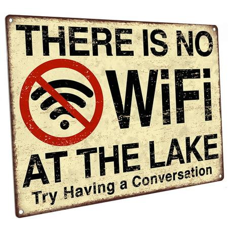 No Wifi at the Lake 9