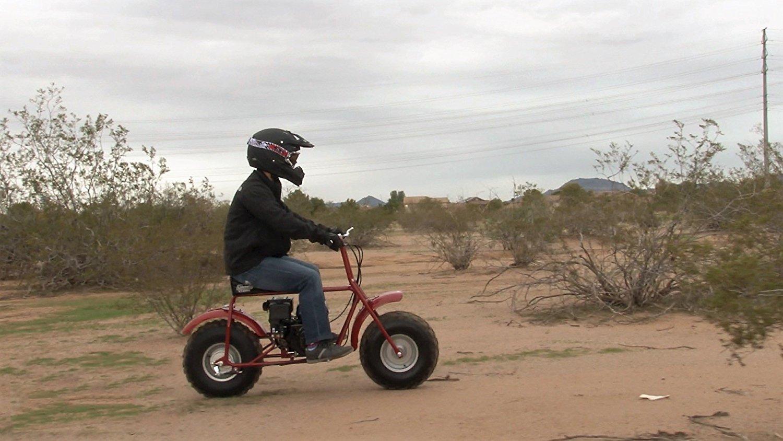 Coleman CT200U-A Trail 196cc Gas-Powered Mini Bike