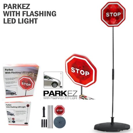 Imperial Home Parkez Flashing Led Light Parking Stop Sign