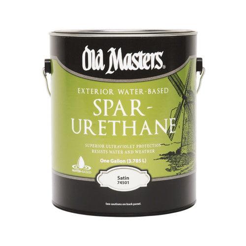 Old Masters 1 Gallon Water Based Spar Urethane Satin (Set of 2)