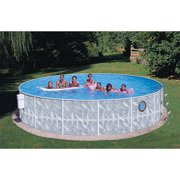 "Heritage Round 15' x 42"" Above Ground Swimming Pool"