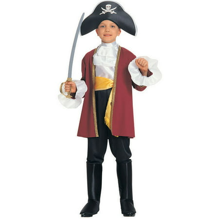 Boy's Captain Hook Costume (Captain Hook Adult)