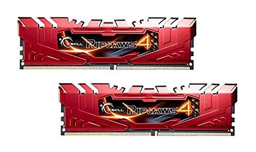 G.SKILL Ripjaws 4 Series 8GB (2 x 4GB) 288-Pin DDR4 SDRAM 2800 (PC4 22400) Extreme Performance Memory F4-2800C16D-8GRR