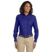 Van Heusen Ladies' Classic Long-Sleeve Oxford - ENGLISH BLUE - M 59800