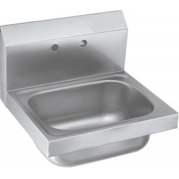 1 Compartment Commercial Wall Mount Kitchen Sink Stainless Steel