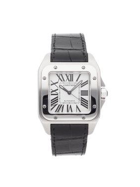 Pre-Owned Cartier Watch Santos 100 Large W20073X8 (15 Month WatchBox Warranty)