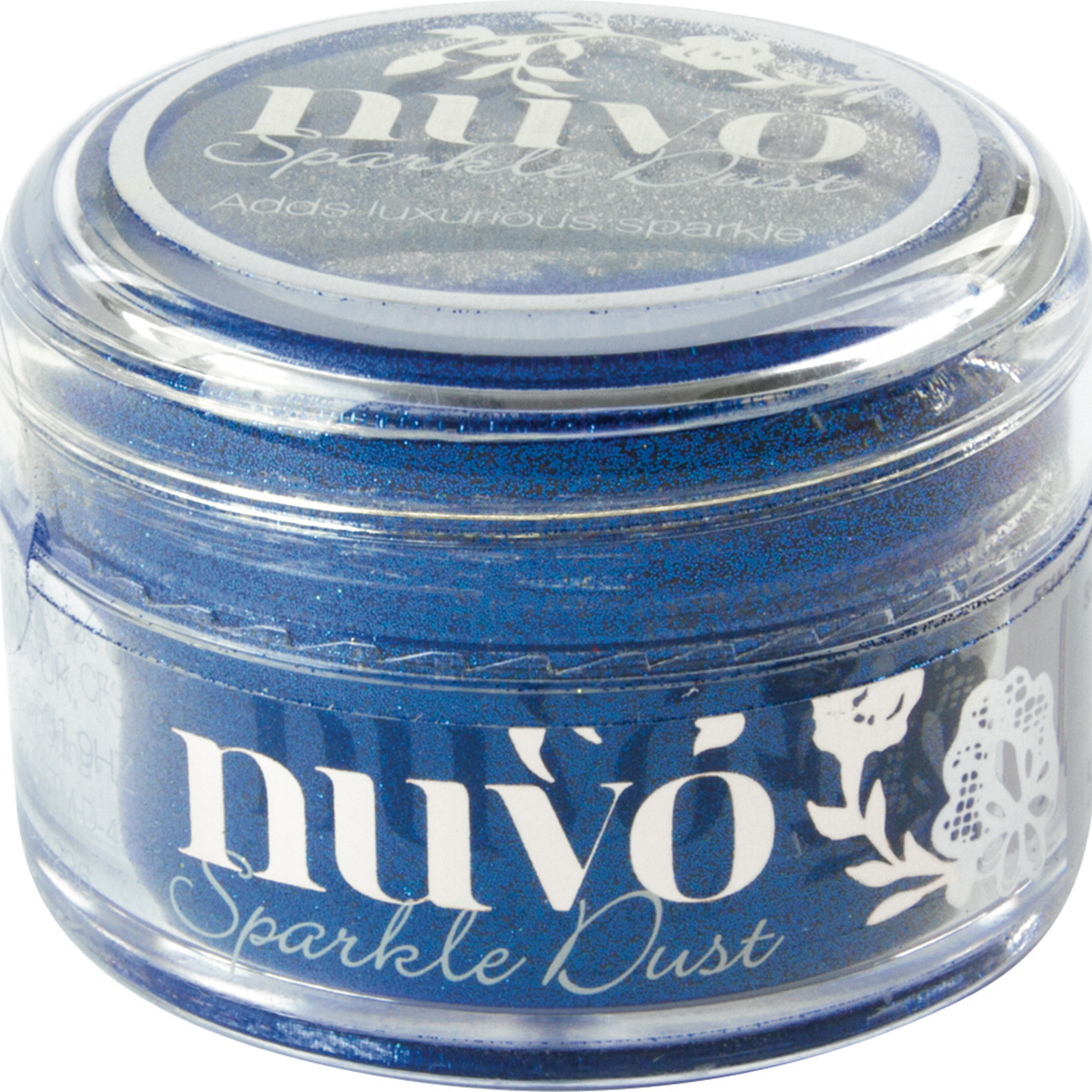 Nuvo Sparkle Dust .5oz-Electric Blue
