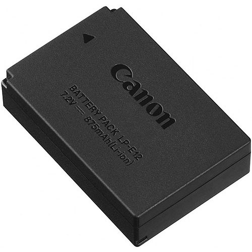 Canon LP-E12 Camera Battery - 875 mAh - Lithium Ion (Li-Ion) - 7.2 V DC