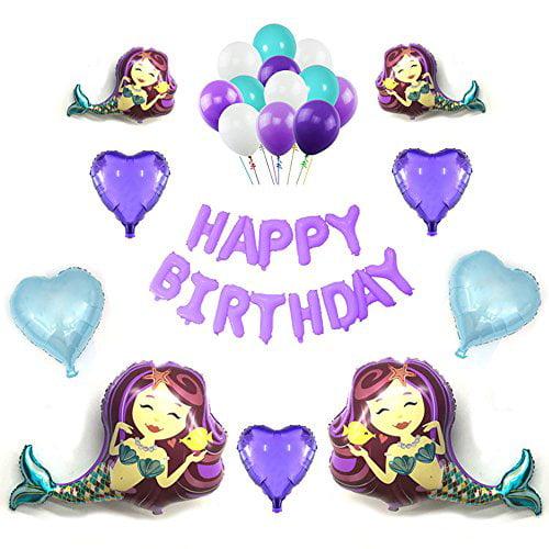 12 X Happy birthday /& Purple heart