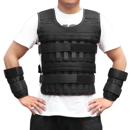 Cergrey Oxford Cloth Breathable 15KG Weighted Vest Strength Training Jacket  for Workout Fitness, Strength Training Vest, Weight Vest | Walmart Canada