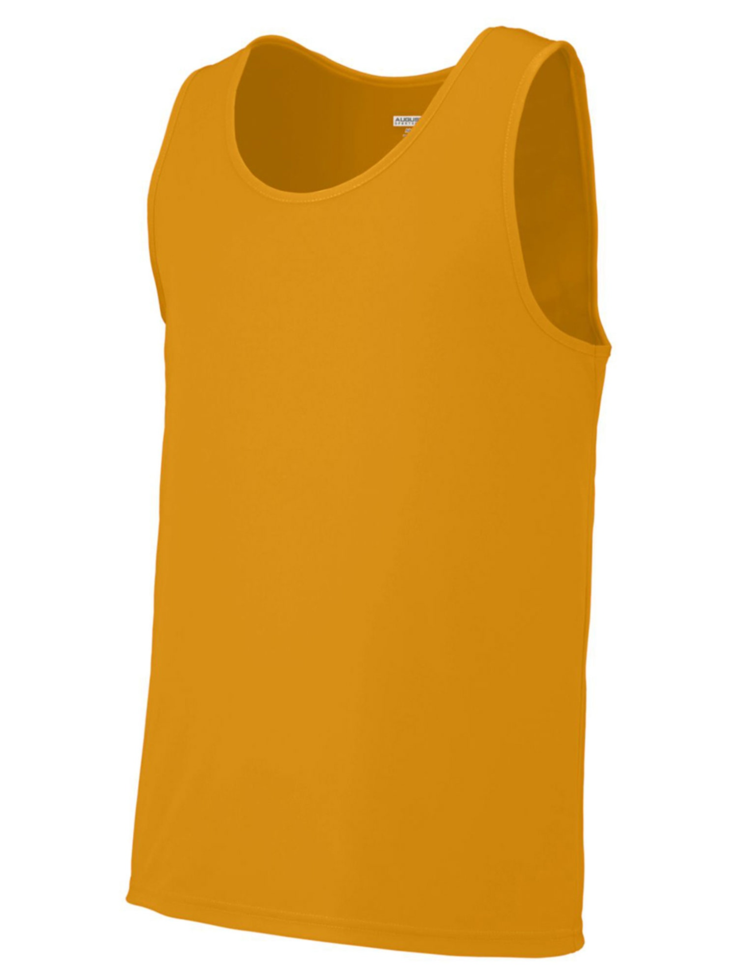Augusta Sportswear Mens Double Needle Training Tank, Navy, 3XL, Style, 703