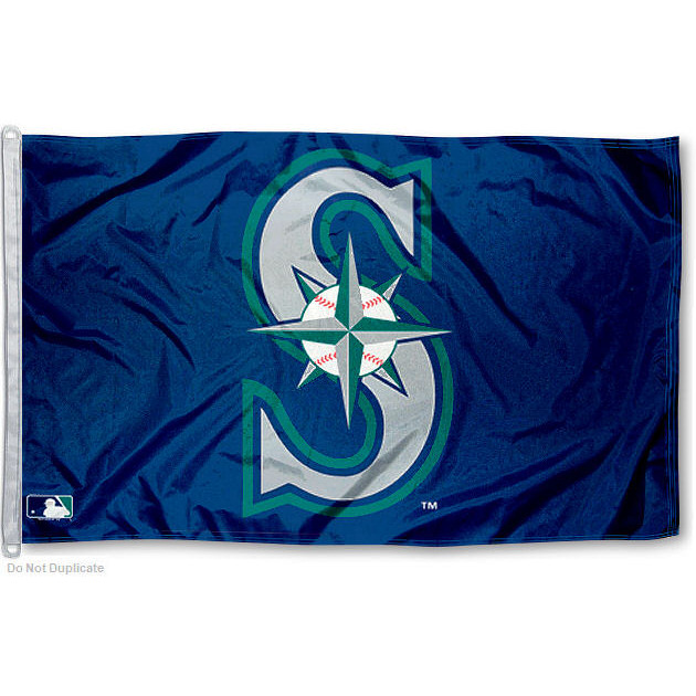 Seattle Mariners 3' x 5' MLB Flag