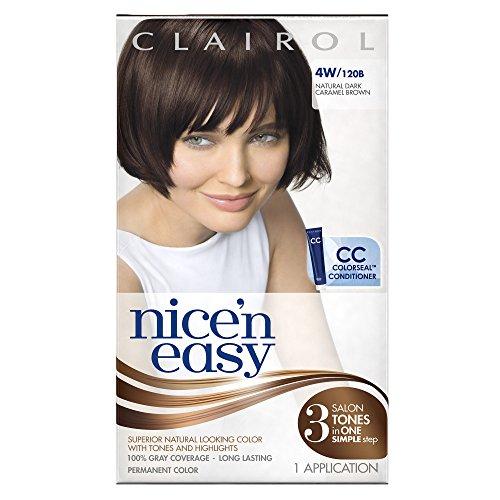 Clairol Nice 'N Easy Hair Color 120b Natural Dark Caramel Brown 1 Kit