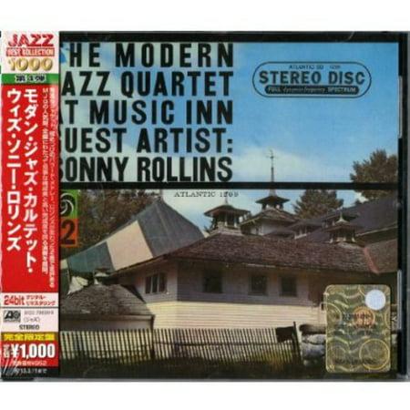 Jazz Cd - Modern Jazz Quartet : At Music Inn: Guest Artist Sonny Rollins