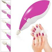Zodaca Electric Nail Art Salon Manicure Machine Pedicure Drill File Polish Tool Set Kit
