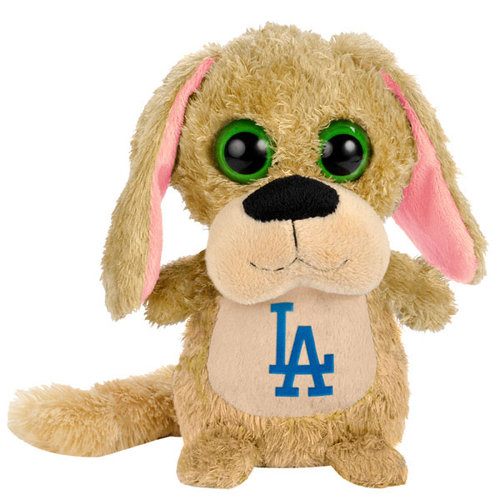 "MLB - Los Angeles Dodgers 8"" Big Eye Plush Dog"