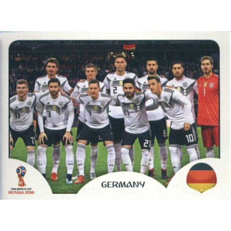 2018 Panini World Cup Stickers Russia #433 Team Photo Germany Soccer Sticker
