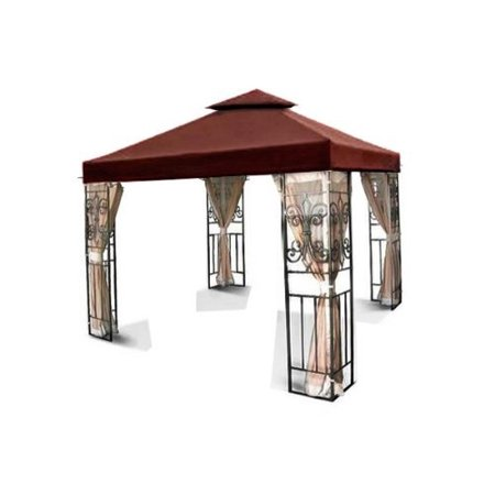 New MTN-G MTN Gearsmith 10'x10' 2-tiered Replacement Garden Gazebo Canopy Top
