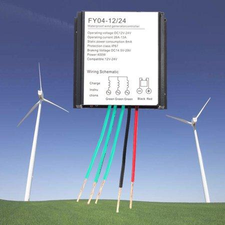 12v/24v 400w wind turbine generator controller battery charge waterproof -  walmart com