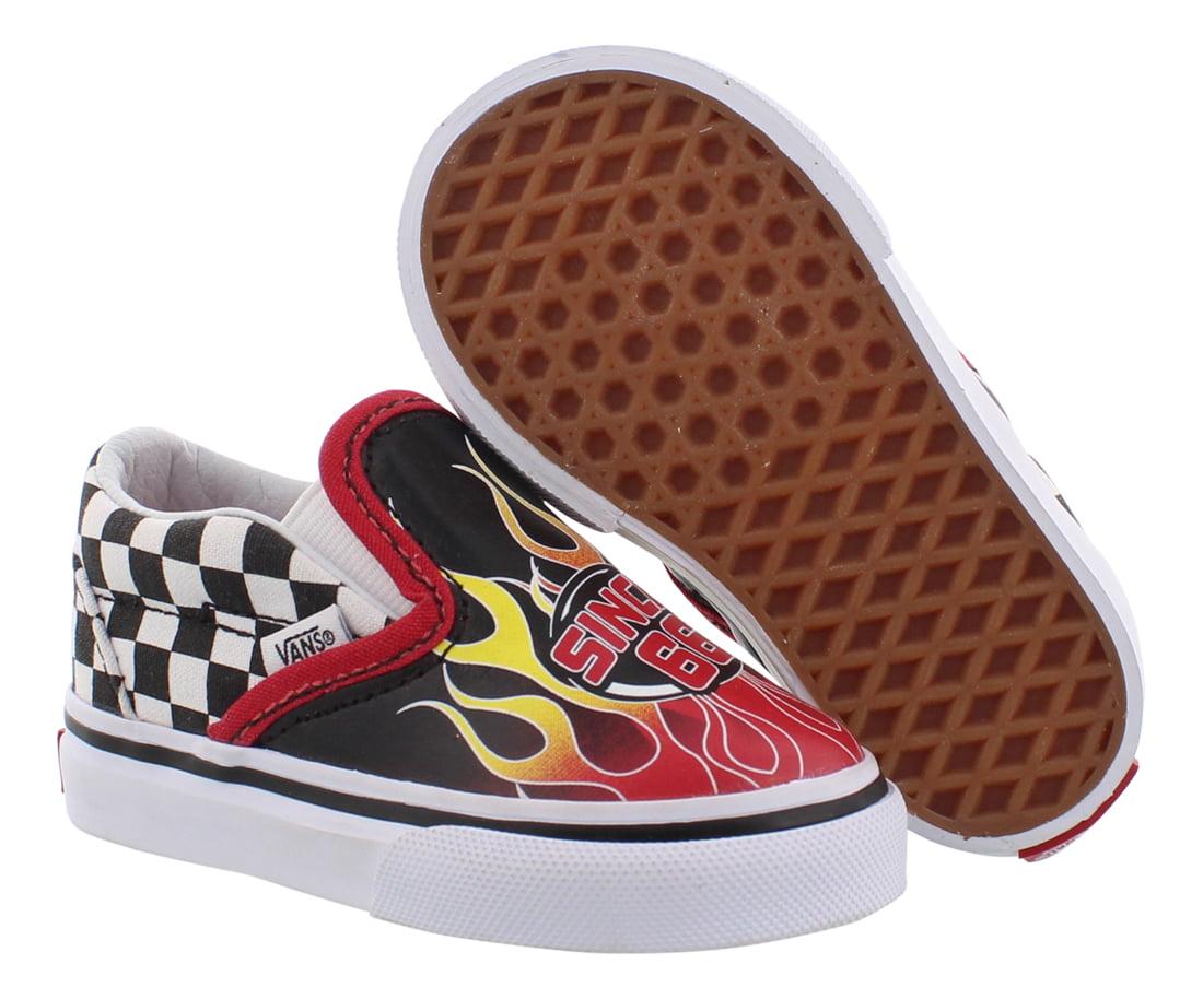 Vans Classic Slip-On Race Flame Infant
