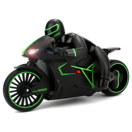 velocity toys speed lightning remote control rc motorcycle car 2 4 ghz control system. Black Bedroom Furniture Sets. Home Design Ideas