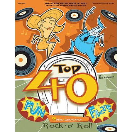 Top 40 Fun Facts: Rock and Roll (Classroom Resource) : Ready-To-Use Reproducible Activities (Fun Classroom Activities For Halloween)