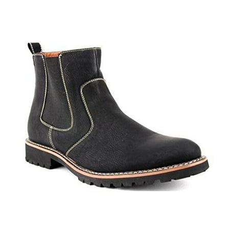 j'aime aldo  ferro aldo men's 506020 ankle high round toe