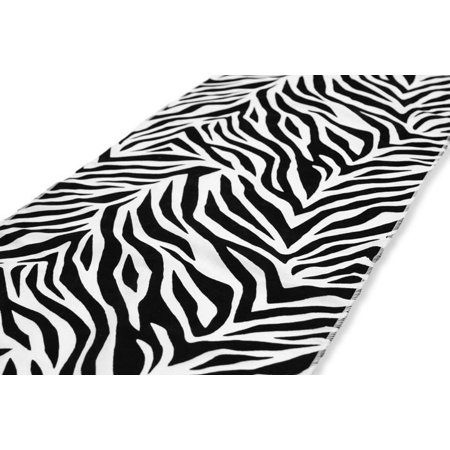 5 Pack Zebra Flocking Taffeta 12