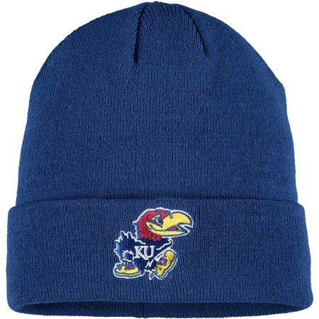 Men's Royal Kansas Jayhawks Cuffed Knit Hat - OSFA
