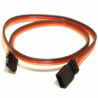 HobbyFlip 10CM Servo Lead Extention (JR) 26AWG Wire Cable Connector Compatible with RC Aircraft